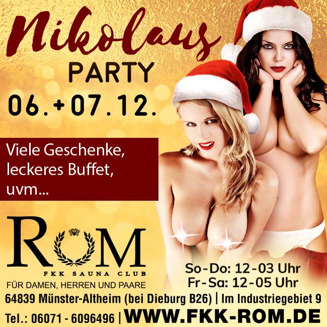 Nikolaus-Party 06. + 07.12.